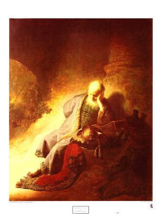 The Prophet Jeremiah Mourning over the Destruction of Jerusalem, 1630