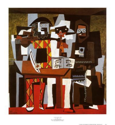 Three Musicians, c.1921