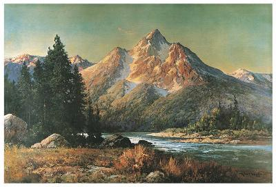 Evening in the Tetons