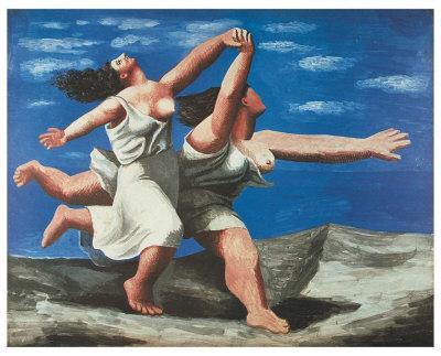 Women Running on the Beach, 1922