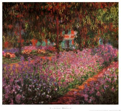 The Artist's Garden at Giverny, c.1900