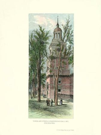 Philadelphia, Independence Hall, 1873