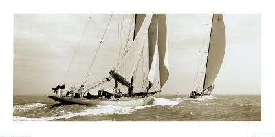 Astra and Shamrock V, 1934