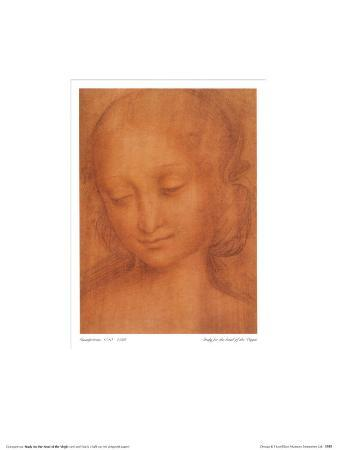 Study for the Head of the Virgin