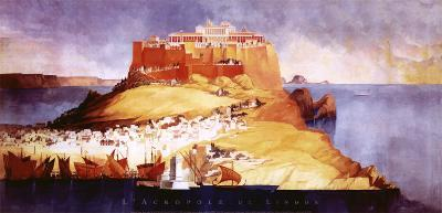L'Acropole De Lindos