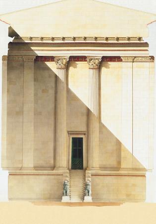 Temple of Apollo, 1875