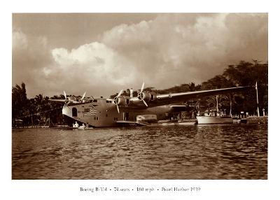 Boeing B-314, 74 Seats, 180 Mph, Pearl Harbor, Hawaii, 1939