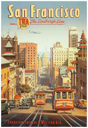 The Lindbergh Line, San Francisco, California