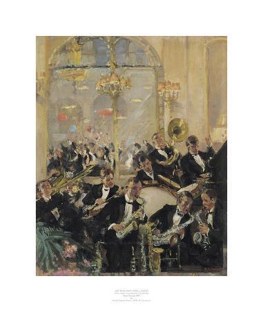 Jazz Band, Savoy Hotel, London
