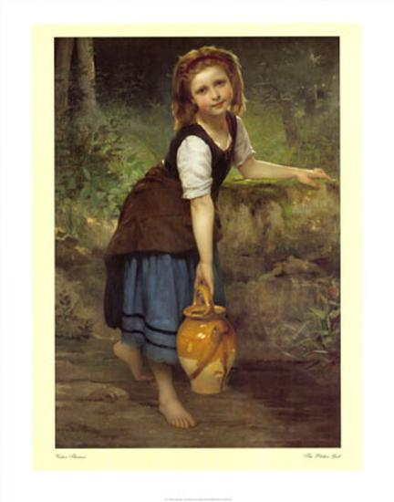 The Pitcher Girl Prints By Victor Thirion At Allposters Com