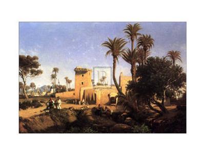 Moorish Buildings at Elche, Spain