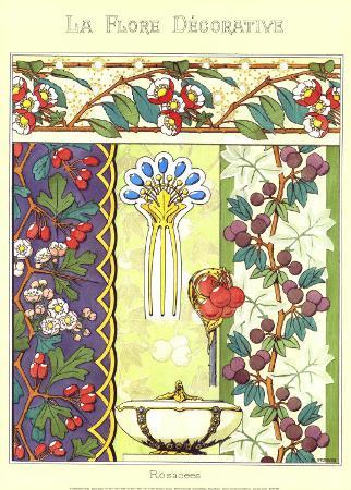 La Flore Decorative, Rosacees
