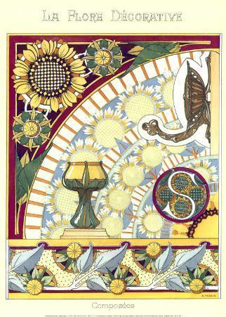 La Flore Decorative, Composees