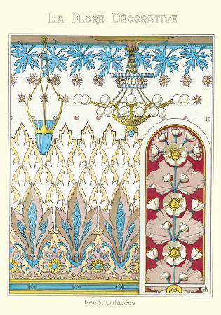 La Flore Decorative, Renonculac