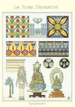 La Flore Decorative, Nympheacee