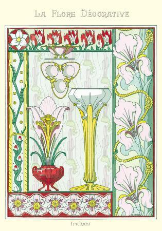 La Flore Decorative, Iridees