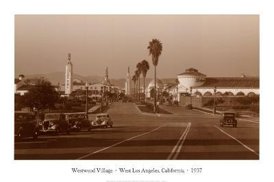Westwood Village, West Los Angeles, California, 1937