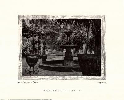 Patio Fountain in Seville