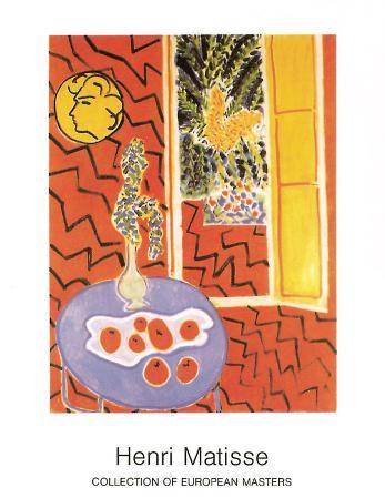 Interieur Rouge, 1947