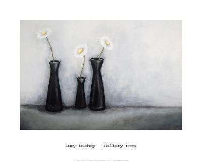 Three Black Vases