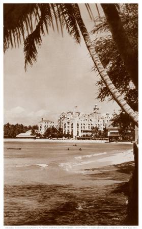 Royal Hawaiian Hotel, Waikiki, Hawaii