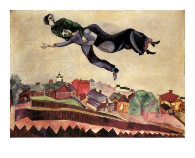 Au Dessus de la Ville,1924
