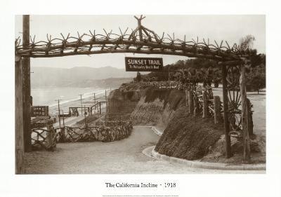 The California Incline, California 1918