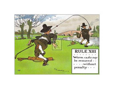 Rules of Golf, Rule XIII
