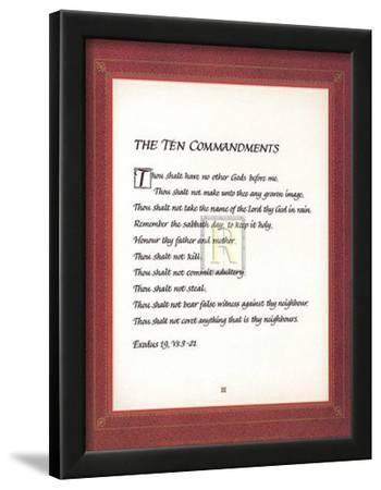 The Ten Commandments Posters At Allposterscom