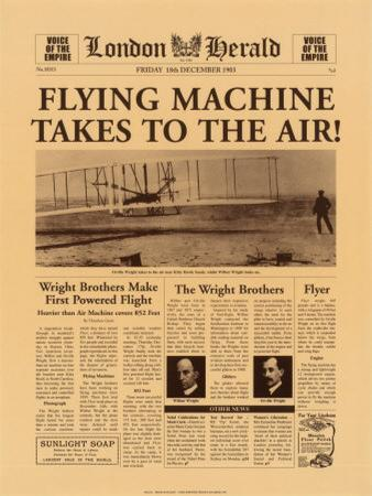 Flying Machine Takes to the Air!