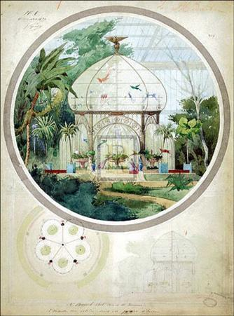 Aviary in a Winter Garden