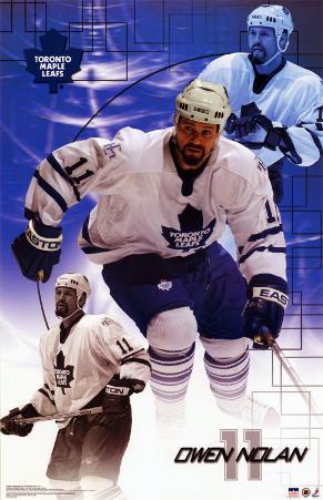 Owen Nolan - Toronto Maple Leafs