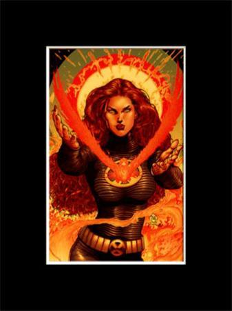 X-Men - Jean Grey - (Limited Edition Transparency)