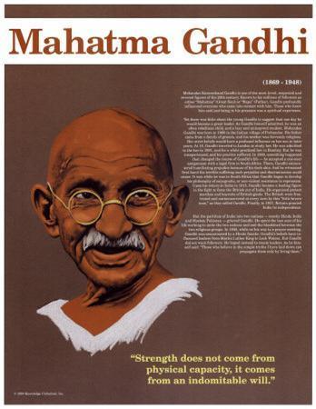 Heroes of the 20th Century - Mahatma Gandhi