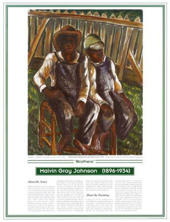 African American Artists - Malvin G. Johnson - Brothers