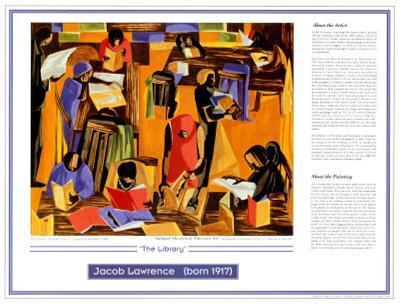 African American Artists - Jacob Lawrence -The Library