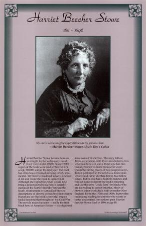 American Authors of the 19th Century - Harriet Beecher Stowe