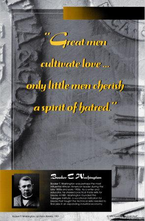 Inspirational Quotations - Booker T. Washington