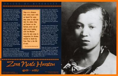 Voices of Diversity - Zora Neale Hurston