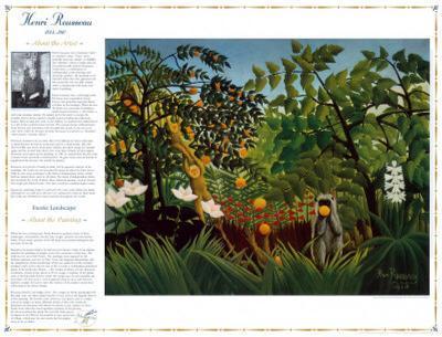 Masterworks of Art - Exotic Landscape
