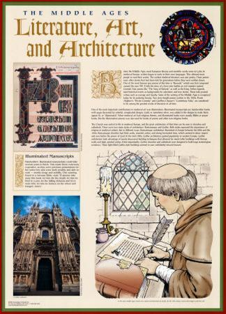 The Middle Ages - Literature, Art & Architecture
