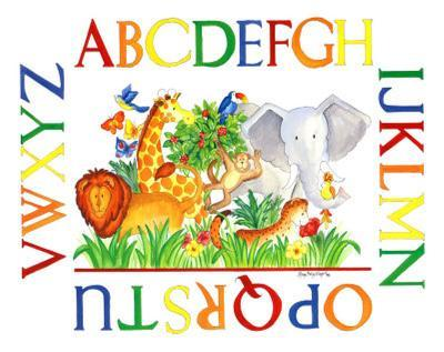 Jungle Alphabet