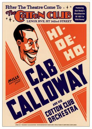 Cab Calloway and His Cotton Club Orchestra at the Cotton Club, New York City, 1931