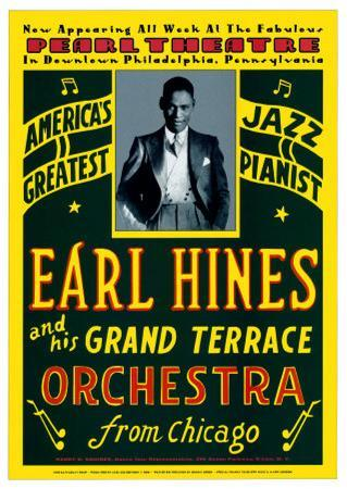 Earl Hines and His Grand Terrace Orchestra at the Pearl Theatre, Pennsylvania, 1929