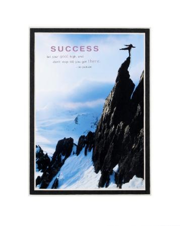 Success: Mountain Climber
