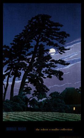 Moon at Magome