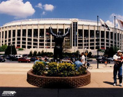 Veterans Stadium - Outside