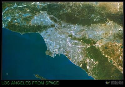 Los Angeles from Space - ©Spaceshots