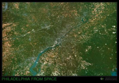 Philadelphia from Space - ©Spaceshots