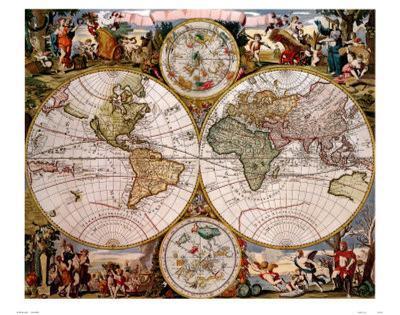 World Antique Map - ©Spaceshots